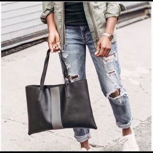 NEW Vince Camuto Luck Vegan Leather Tote